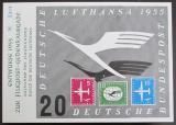 Viněta Německo - Lufthansa 1955