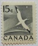 Poštovní známka Kanada 1954 Pták Mi# 288