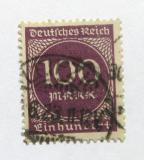 Poštovní známka Německo 1923 Nominální hodnota Mi# 268
