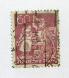 Poštovní známka Německo 1921 Práce s železem Mi# 165