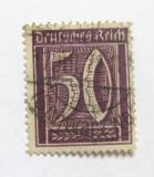 Poštovní známka Německo 1922 Nominální hodnota Mi# 183