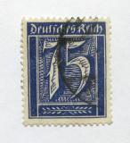 Poštovní známka Německo 1922 Nominální hodnota Mi# 185