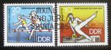 Poštovní známky DDR 1970 Spartakiáda mládeže Mi# 1594-95