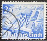 Poštovní známka Německo 1940 Lipský veletrh Mi# 742