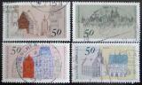 Poštovní známky Německo 1975 Architektura Mi# 860-63