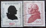Poštovní známky Německo 1974 Osobnosti Mi# 806,809