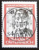 Poštovní známka Rakousko 1986 Portrét, O. Kokoschka Mi# 1841