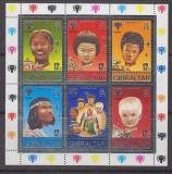 Poštovní známky Gibraltar 1979 Mezinárodní rok dětí Mi# Block 6