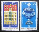 Poštovní známky DDR 1984 Lipský veletrh Mi# 2891-92