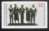 Poštovní známka DDR 1984 Sousoší, Arno Wittig Mi# 2897
