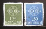 Poštovní známky Itálie 1959 Evropa CEPT Mi# 1055-56