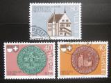 Poštovní známky Švýcarsko 1981 Freiburg,Solothurn Mi# 1203-05