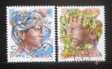 Poštovní známky Švýcarsko 1986 Evropa CEPT Mi# 1315-16