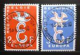 Poštovní známky Belgie 1958 Evropa CEPT Mi# 1117-18