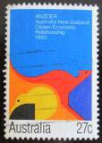 Poštovní známka Austrálie 1983 Klokan a kiwi Mi# 830