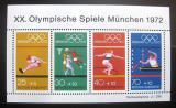 Poštovní známky Německo 1972 LOH Mnichov Mi# Block 8
