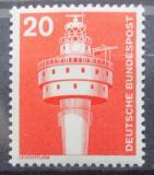 Poštovní známka Německo 1975 Starý maják Mi# 848