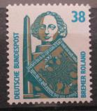 Poštovní známka Německo 1989 Socha Rolanda Mi# 1400