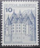 Poštovní známka Německo 1977 Zámek Glucksburg Mi# 913