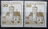 Poštovní známky Německo 1977 Hrad Ludwigstein Mi# 914 C-D