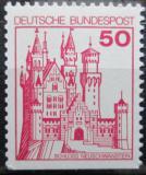 Poštovní známka Německo 1977 Zámek Neuschwanstein Mi# 916 D