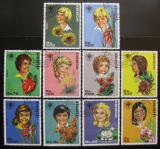 Poštovní známky Paraguay 1981 Mezinárodní rok dětí Mi# 3373-82