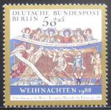 Poštovní známka Západní Berlín 1988 Vánoce Mi# 829