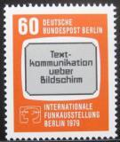 Poštovní známka Západní Berlín 1979 Výstava rádií Mi# 600