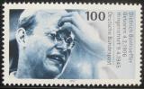 Poštovní známka Německo 1995 Dietrich Bonhoeffer, teolog Mi# 1788