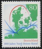 Poštovní známka Německo 1995 Kielský kanál Mi# 1802