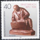 Poštovní známka Západní Berlín 1988 Plastika Mi# 823