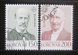 Poštovní známky Faerské ostrovy 1980 Evropa CEPT Mi# 53-54