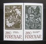 Poštovní známky Faerské ostrovy 1984 Pohádky,pár Mi# 107-08 Kat 11€