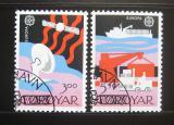 Poštovní známky Faerské ostrovy 1988 Evropa CEPT Mi# 166-67