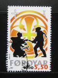 Poštovní známka Faerské ostrovy 2000 Křesťanství Mi# 369