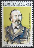 Poštovní známka Lucembursko 1991 E. de la Fontaine, básník Mi# 1275