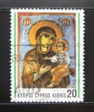 Poštovní známka Kypr 1992 Freska Mi# 801