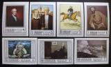 Poštovní známky Šardžá 1968 Umění neperf. Mi# 448-53,455 B Kat 13.50€