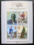 Poštovní známky Velká Británie 1979 Výstava LONDON Mi# Block 2