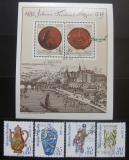 Poštovní známky DDR 1982 Míšeňský porcelán Mi# 2667-70 + Block 65