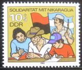 Poštovní známka DDR 1983 Solidarita s Nikaraguou Mi# 2834