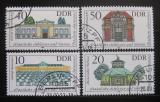 Poštovní známky DDR 1983 Vládní budovy Mi# 2826-29