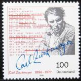 Poštovní známka Německo 1996 Carl Zuckmayer Mi# 1893