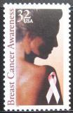 Poštovní známka USA 1996 Boj proti rakovině prsu Mi# 2739