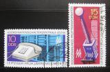Poštovní známky DDR 1970 Lipský veletrh Mi# 1551-52