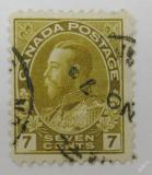 Poštovní známka Kanada 1911 Král Jiří V Mi# 96 Kat 4.80€