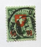 Poštovní známka Švýcarsko 1924 Státní znak Mi# 194