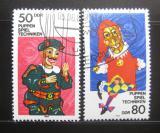 Poštovní známky DDR 1984 Loutky Mi# 2876-77