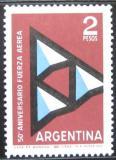 Poštovní známka Argentina 1962 Letectvo Mi# 800
