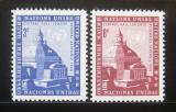 Poštovní známky OSN New York 1958 Westminster Mi# 68-69
